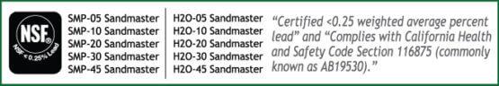 Sandmaster NSF