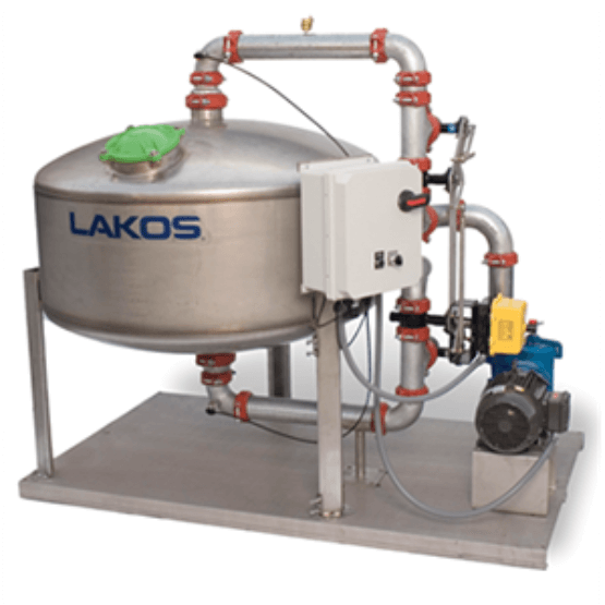 STS - Stainless Sand Media Filter - LAKOS Filtration Solutions