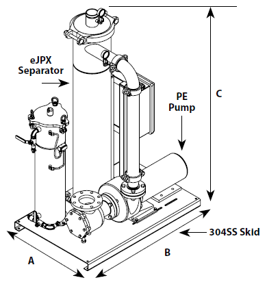eJCX System Dimensions